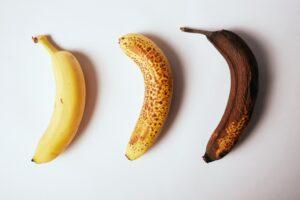 バナナ 黒い