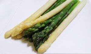 アスパラガス2種