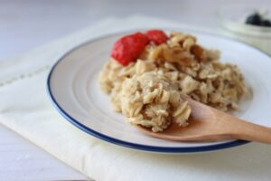 朝食 オートミール