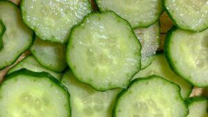きゅうり 断面 緑