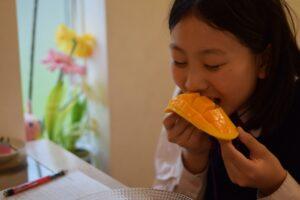 マンゴーの食べ過ぎ