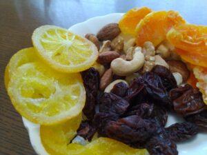 ドライフルーツ 栄養成分