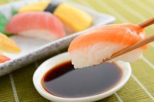 サーモン 寿司 糖質