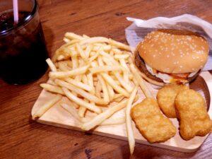 チキンクリスプ セット カロリー