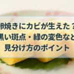 卵焼き カビ